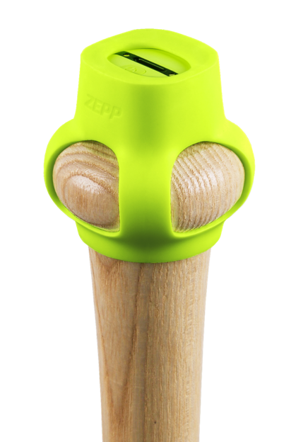 Zepped baseball bat
