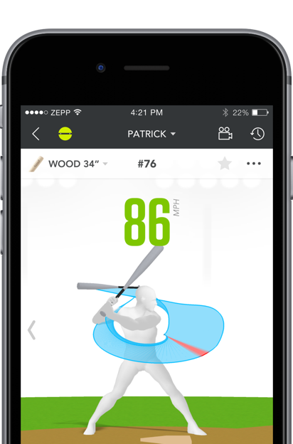 Analyze your baseball swing on your mobile device