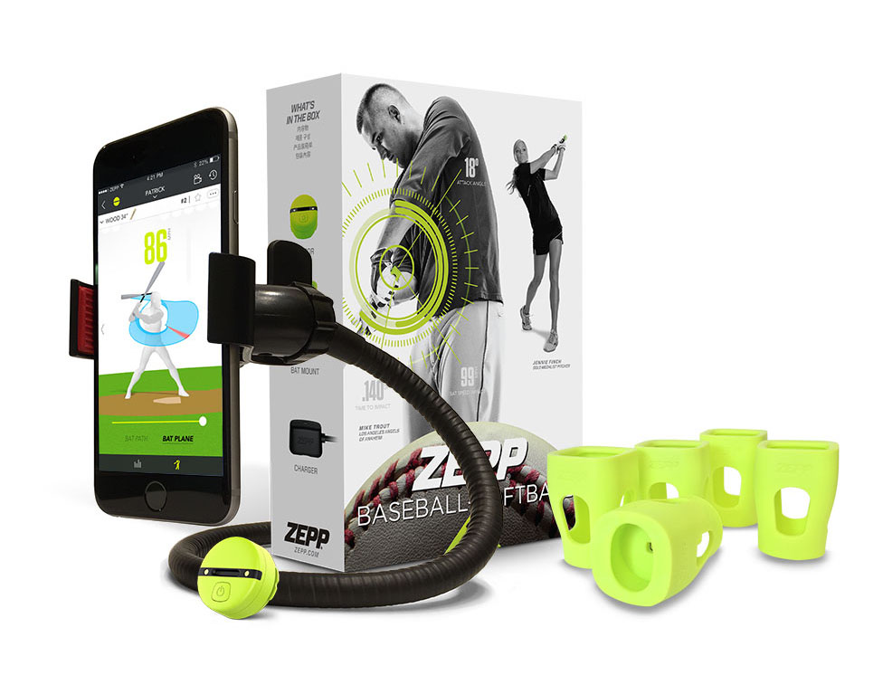Complete Zepp bundle for baseball coaches