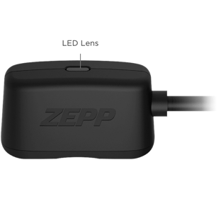 Zepp charger for badminton